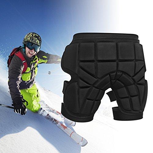 Zuoao 3d Hip Pad protettivo pantaloncini imbottiti