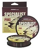 Energo Team Specialist Pike 300m 0,35mm/14,47kg Angelschnur Angelsehne Monofile Schnur Mono Schnur