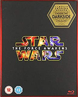 Star Wars: The Force Awakens (Limited Edition Dark Side Artwork Sleeve) [Blu-ray ] [2015] (B019FFA2AI) | Amazon price tracker / tracking, Amazon price history charts, Amazon price watches, Amazon price drop alerts
