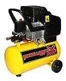 Compresor 25 lt compresor de aceite con ruedas con manómetro