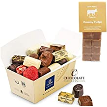 Leonidas Belgian Chocolate Gifts: 35 Luxury Assorted Chocolates 550g with Free Bag of Quality Jersey Fudge
