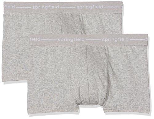 Springfield Herren Boxershorts Grau (Grey)