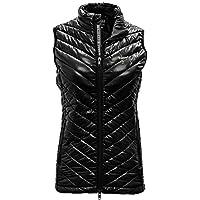 Damen Kugel Bold Weste, Damen, Ladies Sphere Bold Vest, schwarz, Large