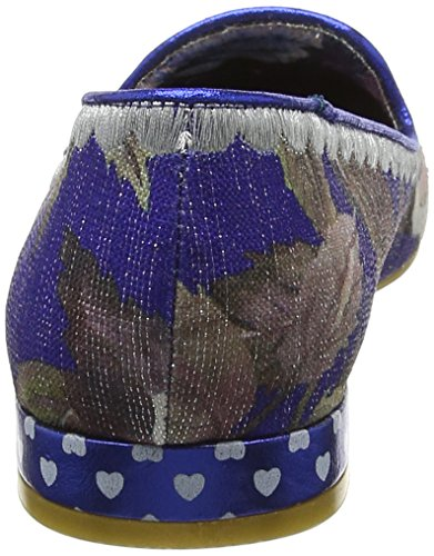Irregular Choice Bigwig, Escarpins femme Blue (Navy Floral)