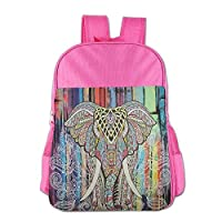 Indian Elephant Style Children School Backpack Carry Bag for Teens Boys Girls