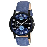 Cimax Denim Casual Analogue Blue Strap &...