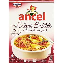 Ancel Ma Crème Brûlée au Caramel Craquant 2 Sachets Pour 8 Parts - 200 g