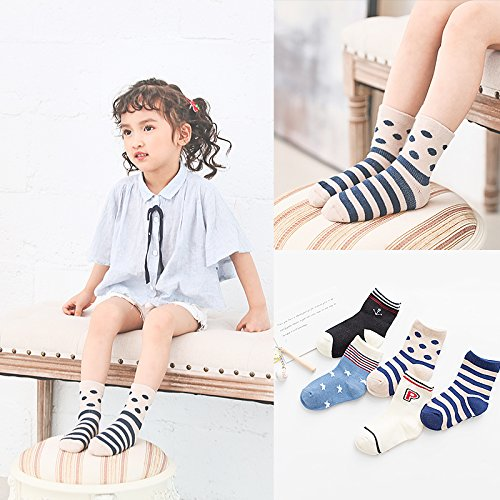 28af836c55977 XIU RONG Children Socks Cotton Baby Socks Spring Summer Thin Male Girls  Socks In The Fall Tube Baby Socks 1-3-5-7-9 Years Old 4-6 Years Old 14-16Cm  G (10 ...