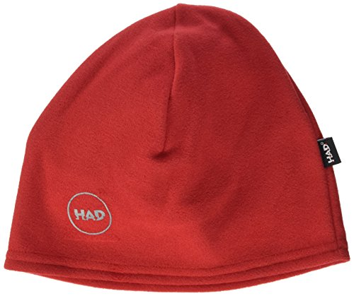 HAD Printed Fleece Beanie Red Reflective 3M Mütze, Rot, One Size -