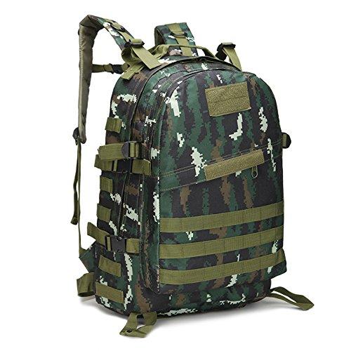 40L MOLLE 3D Assault Tactical Outdoor Militär Rucksäcke Rucksack Camping Laptop Tasche Rucksack für 10bis 39,6cm Laptops Tabby camouflage