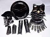 SHIELD 300Movie Mittelalter römischen Spartan Helm + Bein + Arm Guard schwarz Kostüm NEU