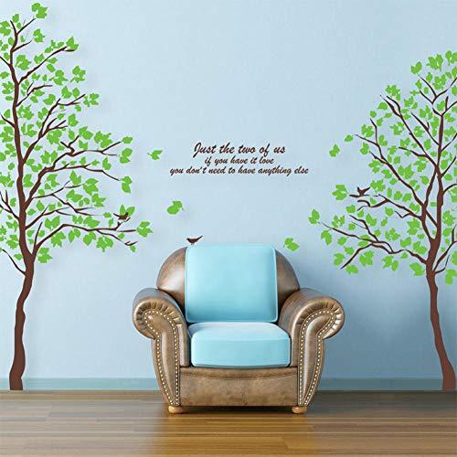 mmeraufkleber Grüne Paare Super Gute Romantische Full House Abnehmbare Wasserdichte Dekorative Aufkleber ()
