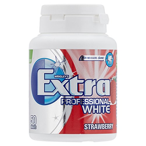 Wrigley´s Extra Professional White Strawberry Dose, 50 Dragees