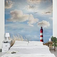 Fotomural - Lighthouse in the dunes - Mural cuadrado, papel pintado, fotomurales, murales pared, papel para pared, foto, mural, pared barato, decorativo