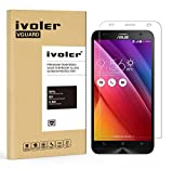 ASUS ZenFone 2 Ze550ml / Ze551ml Protection écran, iVoler® Film Protection d'écran en Verre Trempé Glass Screen Protector Vitre Tempered pour ASUS ZenFone 2 Ze550ml/Ze551ml 5.5''- Dureté 9H, Ultra-mince 0.20 mm, 2.5D Bords Arrondis- Anti-rayure, Anti-tr