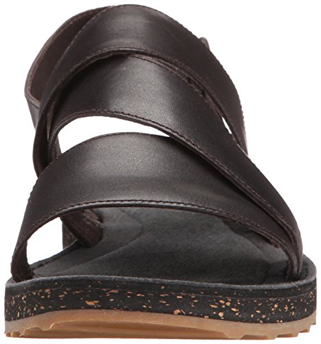 CAMPERPimPom - Sandali Donna Marrone (Marrone scuro (Dark Marrone))