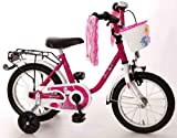 Bachtenkirch Kinder Fahrrad Dream Cat, purpur/weiß, 14 Zoll, 1300411-DC-91