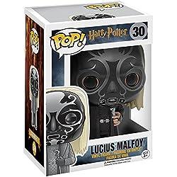 Funko - Figurine Harry Potter -Death Eater Mask Lucius Exclu Pop 10cm - 0889698109925