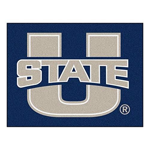 Fanmats 02534 Utah State University All-Star Rug Utah State University