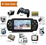Cosmic PSP iNext Classic Gaming Console 8 GB Playstation with Preloaded Games, WiFi, FM, Tf Memory Card and Camera 4.3...