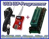 Sparset- USB ISP-Programmer + Adapter für ATMEL AVR RISC DIL Controller