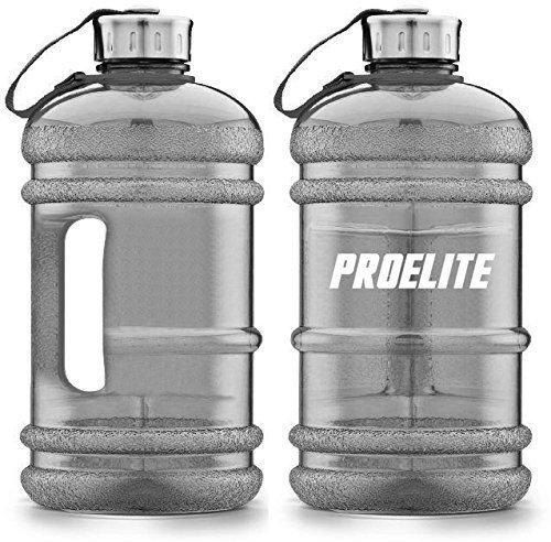 ProELite Black BPA Free Half Gallon Supplements, 2.2 Litre