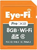 Eye-Fi Pro X2 8GB Wireless SDHC Memory Card