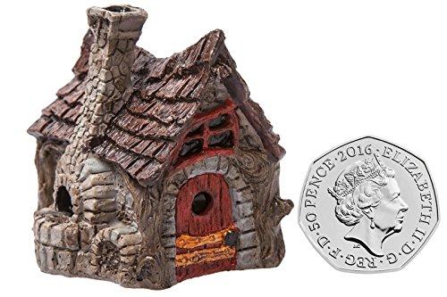Von Hand Bemalt, Sind Mit Schreibtischen (Fiddlehead Gartendekoration Mini Cottage / Bäckerei)