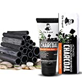 #5: The Legend Activated Himalayan Bamboo charcoal peel off mask for Men and Women | Activated charcoal face pack and face mask for blackheads,100g