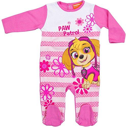 Nickelodeon-strampler (Nickelodeon Babies Paw Patrol Strampler (24 Monate) (Pink))