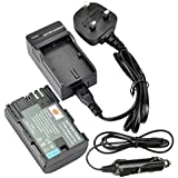 DSTE® LP-E6 LP-E6N Rechargeable Li-ion Battery + DC88U Travel and Car Charger Adapter for Canon EOS 5D Mark II, EOS 5D Mark III, EOS 5DS, EOS 5DS R, EOS 6D, EOS 7D, EOS 60D, EOS 60Da, EOS 70D, 7D markII, 7D markIII Digital Camera
