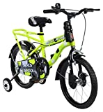 Mad Maxx Steel Kids Humber 16T Road Cycle, 16 inches (Neon Green)