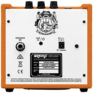 Orange Crush Mini Amplificatore Combo per chitarra elettrica da 3W, Arancione