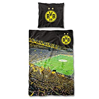 Borussia Dortmund BVB-Bettwäsche Südtribüne (135 x 200 cm) one Size