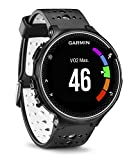 Garmin Forerunner 230 - Reloj de carreja con GPS y funciones de conexion, unisex, color negro y blanco, talla regular