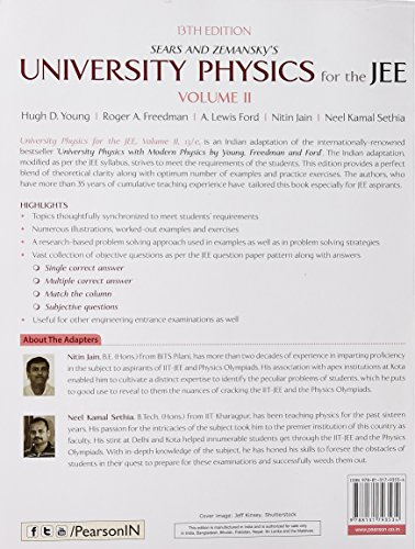 University Physics for the JEE - Vol. II