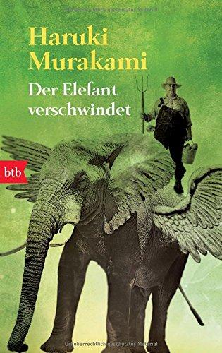 Buchseite und Rezensionen zu 'Der Elefant verschwindet' von Haruki Murakami