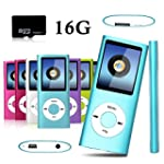 Btopllc 16GB Portable MP4 Player MP3...