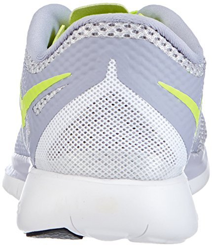Nike - Wmns Nike Free 5.0, Scarpe Da Corsa da donna Titanium/Volt-Pure Platinum