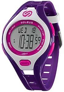 Soleus Dash Small Water Resistant Activity Tracker Watch - Black