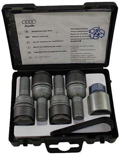 Audi 8R0071336 Radsicherungs-Satz M14 x 1.5 x 45 mit Diebstahlhemmung
