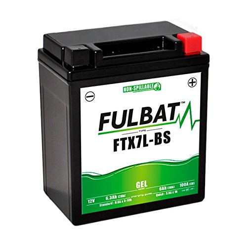 Fulbat - Batteria moto Gel YTX7L-BS / FTX7L-BS 12V 6Ah