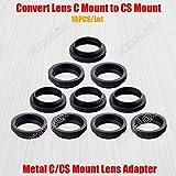 Best C&E Video Converters - Elvy 10PCS/Lot Metal 5mm C to CS Mount Review