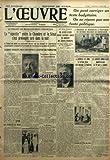 Telecharger Livres OEUVRE L No 6361 du 01 03 1933 LE PROJET DE REDRESSEMENT FINANCIER LA NAVETTE ENTRE LA CHAMBRE ET LE SENAT S EST PROLONGEE TARD DANS LA NUIT A 1 HEURE DU MATIN ON RECHERCHAIT L ACCORD SUR UNE FORMULE DE CONTRIBUTION EXCEPTIONNELLE FRAPPANT LES TRAITEMENTS DES FONCTIONNAIRES AU DESSUS DE 12 000 FR LE GROUPE SOCIALISTE PAR 62 VOIX CONTRE 31 ACCEPTAIT UNE TRANSACTION LE JOUR ET LA NUIT PAR ANDRE GUERIN TROISIEME LECTURE AU LUXEMBOURG L IMPOT GLOBAL SUR LE REVENU LES FONCTIONN (PDF,EPUB,MOBI) gratuits en Francaise