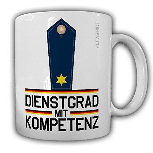 Dienstgrad mit Kompetenz Polizeirat Tasse Kaffeebecher Police MP Polizei FBI SWAT KSK#24165
