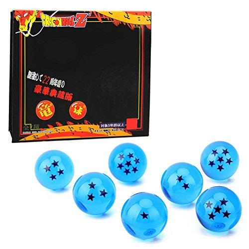 DragonBall-Dragn-Bolas-7PCSVococal-DragonBall-Z-Bolas-de-Dragn-1-a-7-Estrellas-con-Caja-de-Regalo-Coleccionar-o-Regalar-para-NiosAFicionado-al-AnimeDimetro-43CM-Naranja