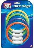 MES anneaux de plongée, anneaux de plongée de la piscine,