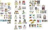 24 x Mädchen + 24 Jungen Spielsachen Spielzeug Mitgebsel Zahnarzt Praxis Give Away Kinder Mägel Adventskalender Geschwister Junge mädchen doppelt Jungs