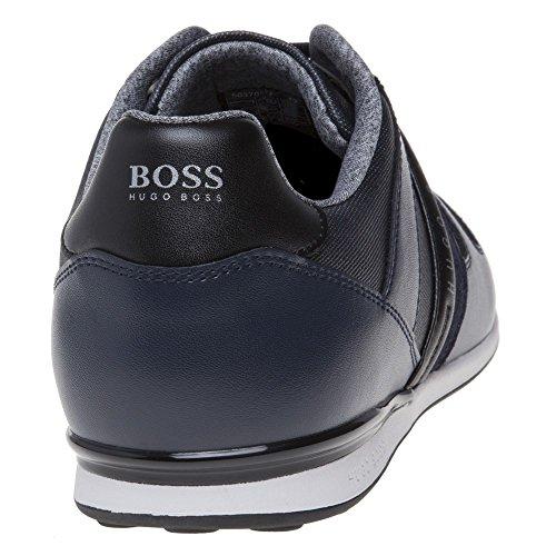 Boss Green Arkansas Lowp Homme Baskets Mode Bleu Bleu