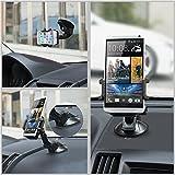Handyhalterung Auto TaoTronics KFZ Handyhalter Halterung Universal für Smartphone Galaxy s6, s5, s7 edge, Iphone 6, 6s, 6s plus, 5, 5s Lumia, G5, Z6 usw. Bild 2